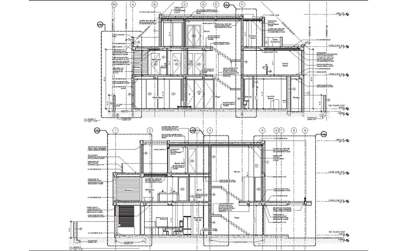 PERMIT SET III CONSTRUCTION  DRWG III AS BUILT DRAWING